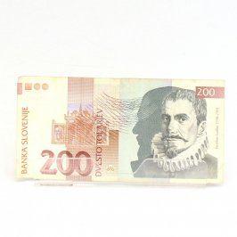 Bankovka 200 tolarjev - Slovinsko
