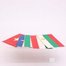 Sada státních vlajek 5 kusů