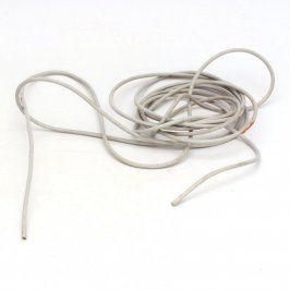 Měděný kabel s izolací průměr 3 mm