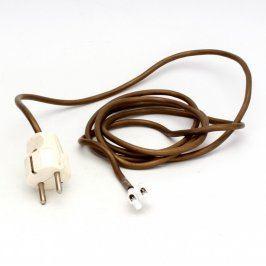 Kabel se zástrčkou bez otvoru  a svorkovnicí
