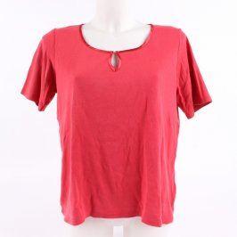 Dámské tričko Marks & Spencer červené
