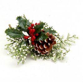 Vánoční dekorace s šiškou