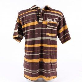 Pánské hnědé tričko Horsefeathers