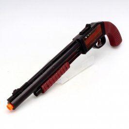 Pistole s natahovacím mechanismem