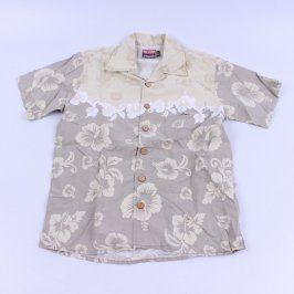 Dětská košile Big Star s květy
