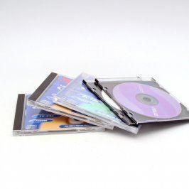 CD-R Mix 5 kusů různých výrobců s obalem