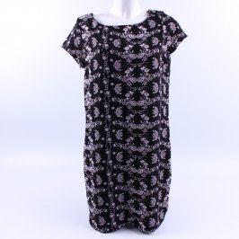 Dámské černobílé pouzdrové šaty