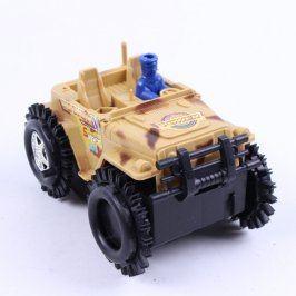 Model auta válečný jeap terénní