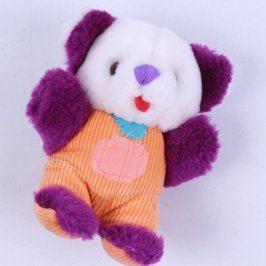 Plyšová hračka barevný medvídek