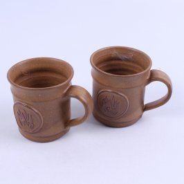 Sada keramických hrnků 2 ks