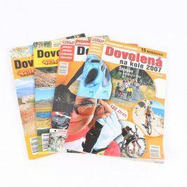 Časopisy: Dovolená na kole 2004 - 2007