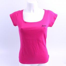 Dámské růžové triko Luxus fashion