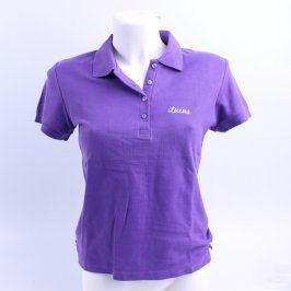 Dámské polo tričko Sol's fialové