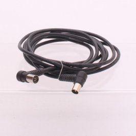Anténní kabel propojovací koaxiální 290 cm