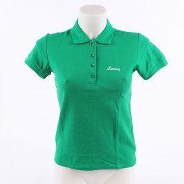 Dámské polo tričko Sol's sytě zelené