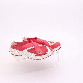 Dámská letní obuv Fila červená