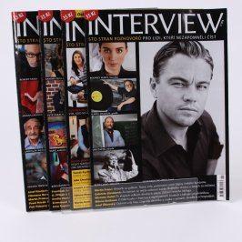Časopisy Interview 1,2,3,4/2016