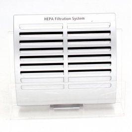 HEPA Filtration system stříbrné barvy