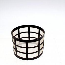 Filtr černý s bílou síťkou