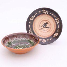 Keramické talíře dekorační