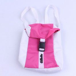 Batoh Gillette růžovo bílý
