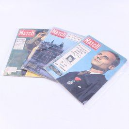 Časopisy Paris Match 3 kusy