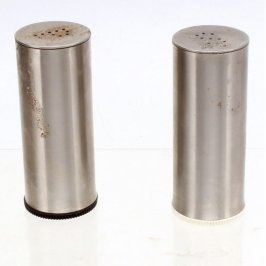 Slánka a pepřenka stříbrné nerez