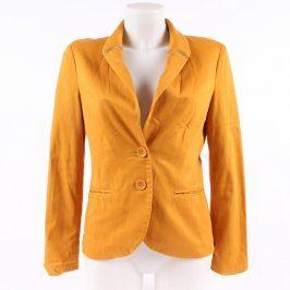 Dámské sako Amisu odstín oranžové
