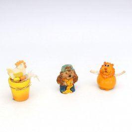 Dekorativní figurky 3 kusy