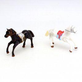 Plastová zvířátka dva koně