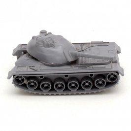 Tank šedý plastový na kolečkách