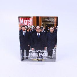 Časopis Paris Match 13 Janvier 2015