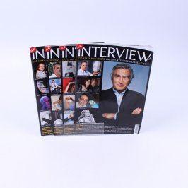 Časopisy Interview 4 kusy