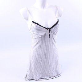 Dámská košilka na ramínka bílá