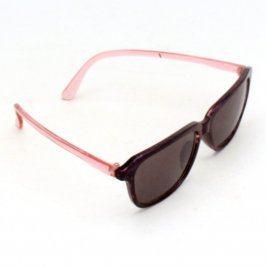 Sluneční brýle černorůžové