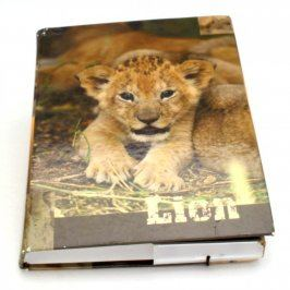 Desky na sešity Karton P+P se lvem