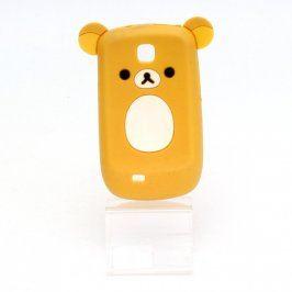 Obal na mobil Samsung S5570 žlutý