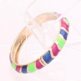 Dámský náramek na ruku barevný