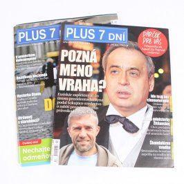 Časopisy Plus 7 dní 2 kusy