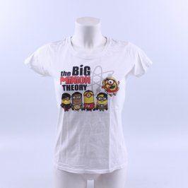 Dětské tričko Fruit Of The Loom bílé