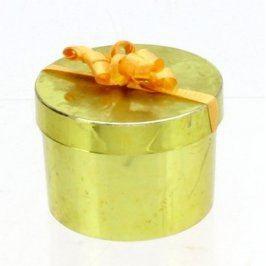 Plastová zelená krabička na šperky