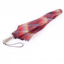 Dámský deštník s barevnými pruhy
