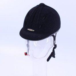 Helma jezdecká černá CASCO