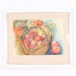 Obraz Zátiší s jablky