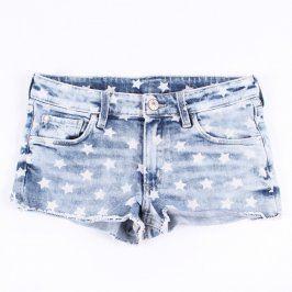 Dívčí džínové šortky H&M modré