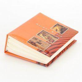 Fotoalbum oranžové se zvířecími motivy