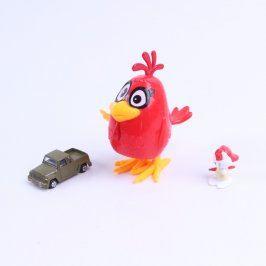 Figurky skákací slepice, HelloKitty a auto
