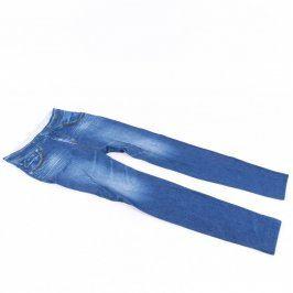 Dámské džegíny odstín modré