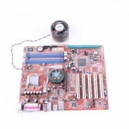 Set základní desky s procesorem Abit IS7
