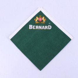 Ubrus Bernard zelený 38 x 38 cm